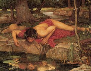 MitologiagriegaNarciso- pinturadeJohnWilliamWaterhouse1903