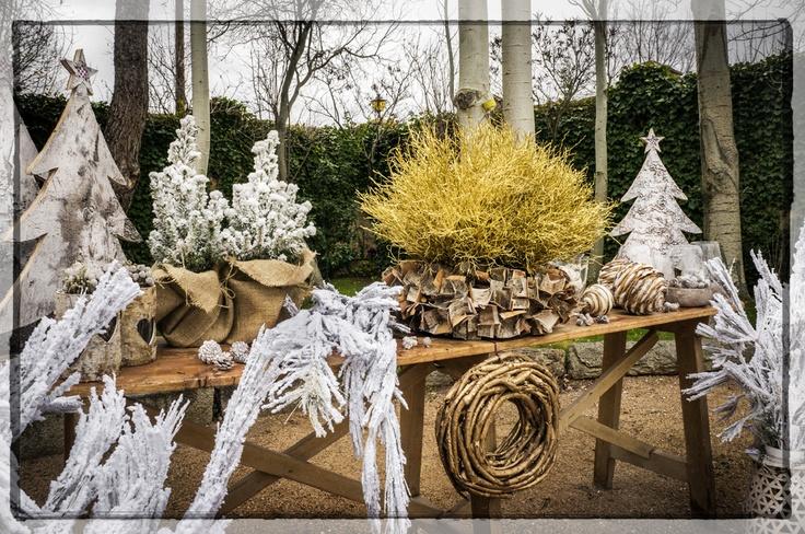 Mar de Flores. Decoración bodas. Bodas navideñas. Bodas de Invierno