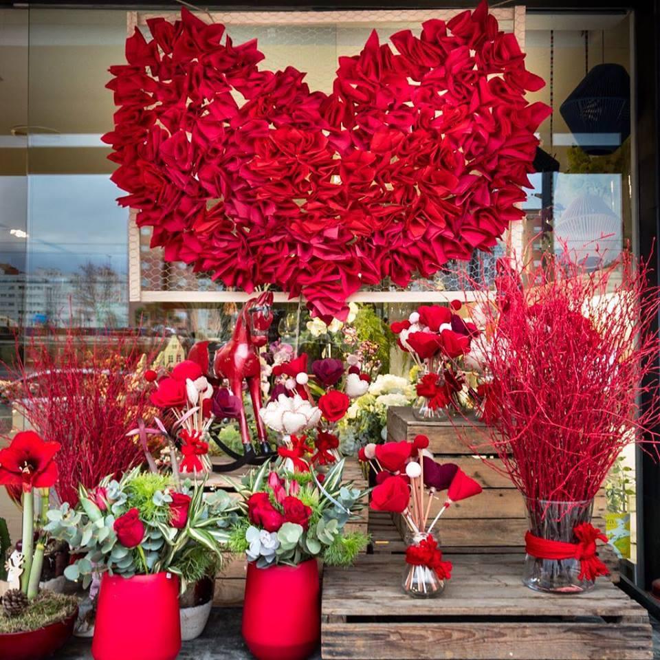 enviar flores san valentin madrid